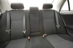 Car Interior Backseats Stock Image