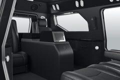 Car interior black Royalty Free Stock Images