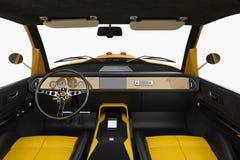 Car interior cabin Stock Photography