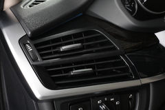 Car interior. Climate control Royalty Free Stock Images