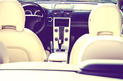 Car Interior Close Up Royalty Free Stock Images