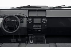 Car interior dashboard Stock Photography