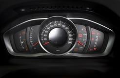 Car interior dashboard details Stock Photos