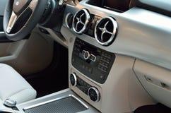 Luxury car interior Stock Photo