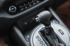 Car interior design, modern dashboard Stock Photography