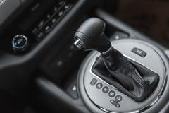Car interior design, modern dashboard Stock Images