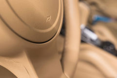 Car interior detail. Royalty Free Stock Images