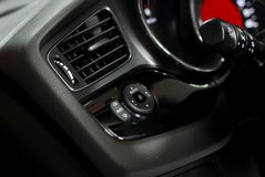 Car interior detail Royalty Free Stock Photo