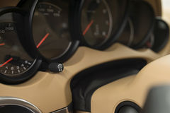 Car interior detail. Stock Photography