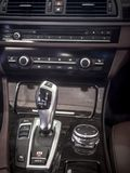 Car Interior detail,shift gear. Car panel with shift gear,automatic transmission stock photography