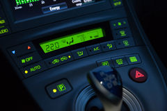 Car Interior Details Royalty Free Stock Photos