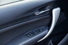 Car interior. Door panel Stock Image