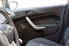Car interior - front door Royalty Free Stock Photo