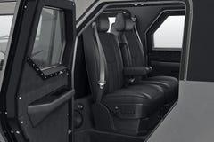 Car interior inside Stock Photo