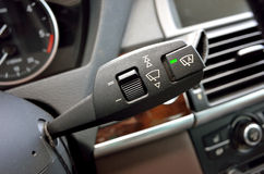 Car interior lever Stock Photography