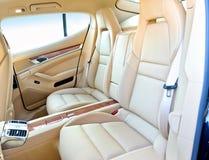 Car interior. Royalty Free Stock Photo