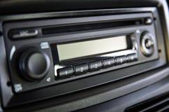 Car Radio Close-up. Car interior radio car radio close-up control panel car stereo car royalty free stock images