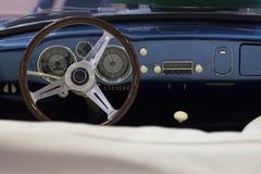 car interior retro Στοκ Φωτογραφία