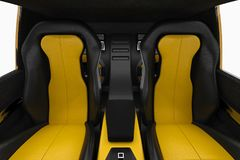 Car interior seat Royalty Free Stock Photos