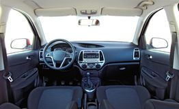 Car interior Stock Photography