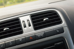 Car interior ventilation Stock Photo