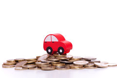 Car investment Royalty Free Stock Photos