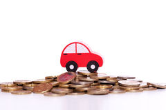 Car investment Royalty Free Stock Image