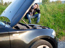 Car issue Stock Photography