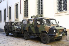 Car Italian Army Stock Photo