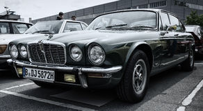 Car Jaguar XJ12 Stock Photos