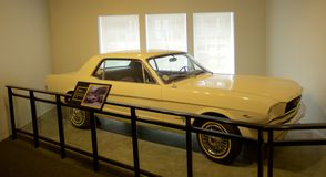 Car of James Earl Ray inside the National Civil Rights Museum at the Lorraine Motel Stock Photo