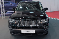 Car Jeep COMPASS Royalty Free Stock Photography