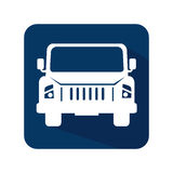 Car jeep vehicle icon Royalty Free Stock Images