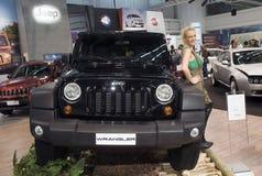 Car Jeep Wrangler Royalty Free Stock Photo