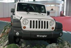 Car Jeep Wrangler Royalty Free Stock Photos