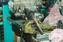 Car joints in workshop. Stock Images