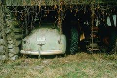Car in a junk yard in Northern Idaho Royalty Free Stock Photos