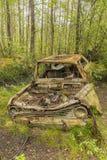 Car Junkyard in Smaland Royalty Free Stock Photo