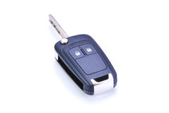 Car Key. Remote on a white background Stock Photos
