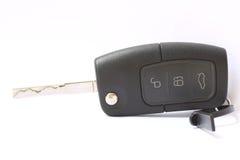 Car key. Isolate on white background Royalty Free Stock Images