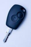 Car key. Closeup of a black car key Royalty Free Stock Photography