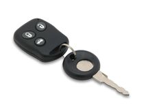 Car key. Royalty Free Stock Photos