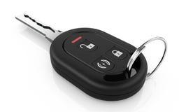 Car key. 3d illustration of car key  on white background Royalty Free Stock Photography