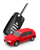 The car key Royalty Free Stock Photos