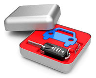 The car key Stock Images