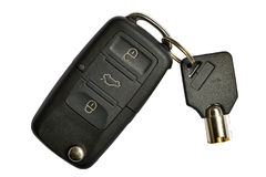 Car key. And home key Stock Images