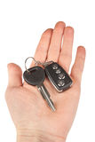 Car key with alarm Stock Image