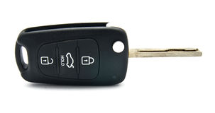 Car key and alarm system charm Stock Images