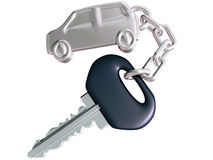 Car Key and Car Fob Royalty Free Stock Images