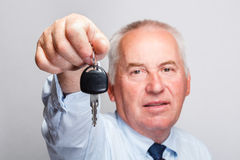 Car key concept Stock Photos